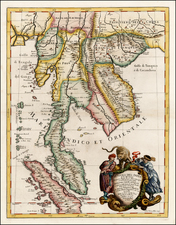 Southeast Asia and Other Islands Map By Giacomo Giovanni Rossi - Giacomo Cantelli da Vignola