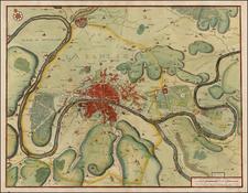 France Map By Nicolas de Fer