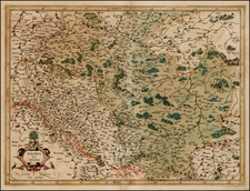 Poland Map By Gerhard Mercator