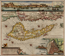 Greece and Balearic Islands Map By Gerard Van Keulen