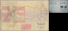 Plains, Southwest and Rocky Mountains Map By Henry T. Williams