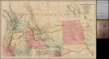 Plains, Rocky Mountains and California Map By John Mullan