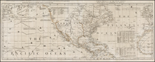 United States, Texas, Plains, Rocky Mountains, Alaska, North America, Baja California, Pacific and California Map By Thomas Jefferys