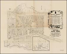 California Map By Sidney H. Woodruff / Hollywood Blue Print Co.