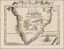 Africa and South Africa Map By Lorenz Fries