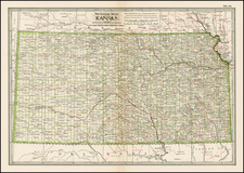 Midwest and Plains Map By The Century Company