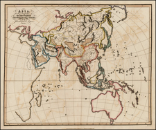 Asia and Asia Map By Jehoshaphat Aspin
