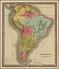 South America Map By John Greenleaf