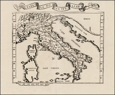 Italy Map By Lorenz Fries