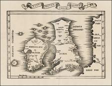 British Isles, Scotland and Ireland Map By Lorenz Fries