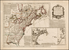 United States, Mid-Atlantic, Midwest and North America Map By Anonymous