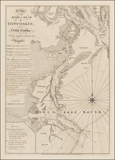 South Carolina and American Revolution Map By Robert Sayer  &  John Bennett