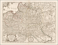 Poland Map By Philippe Buache