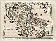 Greece Map By Lorenz Fries