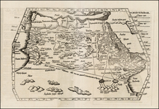 Africa, North Africa, West Africa and African Islands, including Madagascar Map By Lorenz Fries