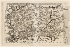 Turkey, Balearic Islands and Turkey & Asia Minor Map By Lorenz Fries