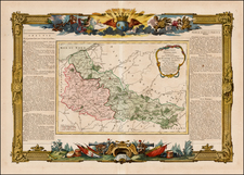 Map By Louis Brion de la Tour