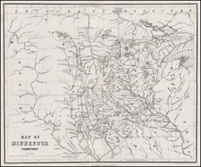 Midwest and Plains Map By J. S. Redfield