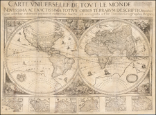 World, World, Southern Hemisphere and South America Map By Nicolas Berey / Christopher Tassin