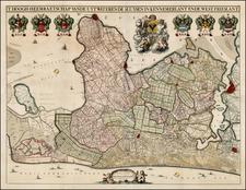 Netherlands Map By Johannes Dou / Jan Karels