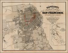 California Map By A.L. Bancroft & Co.