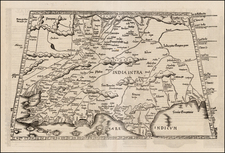 India and Central Asia & Caucasus Map By Lorenz Fries