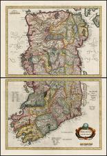Ireland Map By Henricus Hondius
