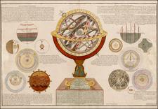 Celestial Maps and Curiosities Map By Nicolas de Fer  &  Guillaume Danet