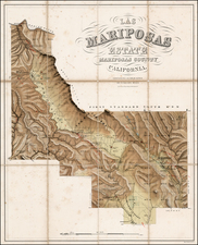 California Map By Sarony, Major & Knapp / John Charles Fremont