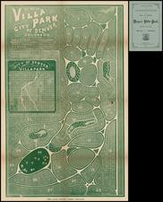 Rocky Mountains and Colorado Map By Denver Tribune Association Print