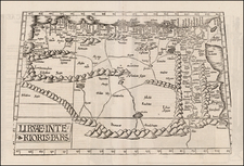 Egypt and North Africa Map By Lorenz Fries