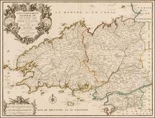 France Map By Nicolas de Fer / Guillaume Danet