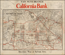 California Map By Franklin P. Borgnis