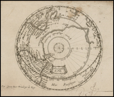 Southern Hemisphere and Polar Maps Map By Antoine De Fer