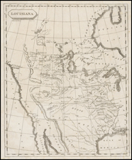 Plains, Southwest and Rocky Mountains Map By Aaron Arrowsmith  &  Samuel Lewis
