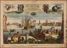 Title Pages Map By Nicolas de Fer