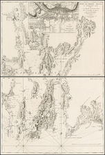 New England Map By George Louis Le Rouge