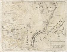 Mid-Atlantic and Southeast Map By Jacques Esnauts  &  Michel Rapilly