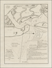 Florida and Southeast Map By George Louis Le Rouge