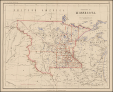 Midwest and Plains Map By Henry Darwin Rogers  &  Alexander Keith Johnston