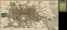 British Isles Map By William Darton