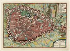 Map By Nicolas de Fer