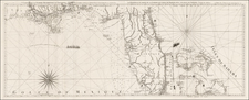 Florida, South, Southeast and Caribbean Map By Georges Louis Le Rouge