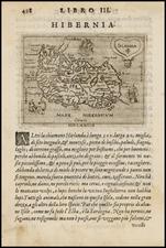 Ireland Map By Giovanni Botero