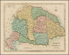 Hungary, Romania and Balkans Map By Robert Wilkinson