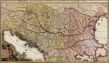 Hungary, Romania and Balkans Map By Joshua Ottens