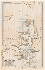 Polar Maps, Russia and Russia in Asia Map By Augustus Herman Petermann