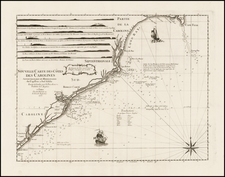 Southeast Map By George Louis Le Rouge