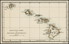 Hawaii and Hawaii Map By Maclure, MacDonald & MacGregor's Steam Litho