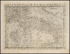 Italy Map By Giacomo Gastaldi